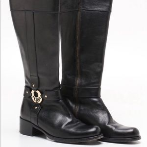 Fendi Shoes - Sz 36 knee high leather riding style boots
